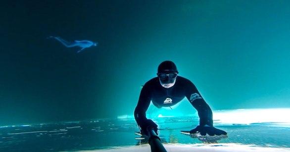 frozen-lake-upside-down-free-dive-gopro
