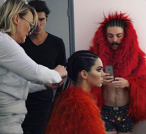 guy photoshops himself into kendall jenner instagram pics 14 This Guy Cant Stop Photoshopping Himself Into Kendall Jenners Instagram Pics
