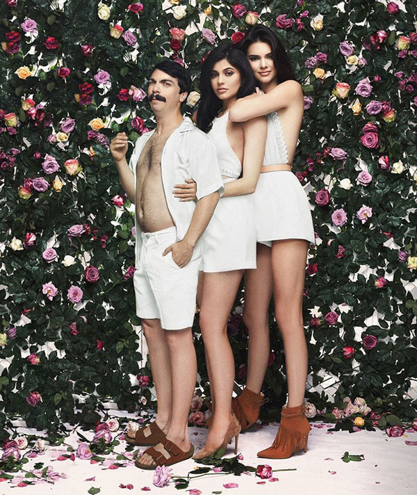 guy photoshops himself into kendall jenner instagram pics 19 This Guy Cant Stop Photoshopping Himself Into Kendall Jenners Instagram Pics