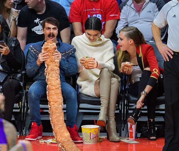 guy photoshops himself into kendall jenner instagram pics 21 This Guy Cant Stop Photoshopping Himself Into Kendall Jenners Instagram Pics
