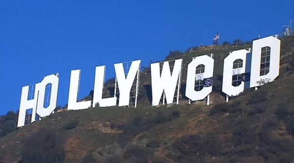 Picture of the Day: Welcome to Hollyweed «TwistedSifter