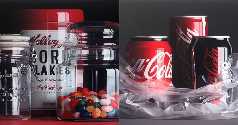 These Look Like Photographs But They're Actually Oil Paintings
