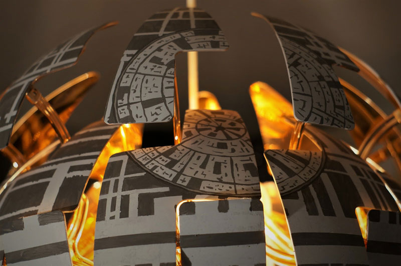 Star War Fans Turn Popular Ikea Lamp Into Death Star Twistedsifter