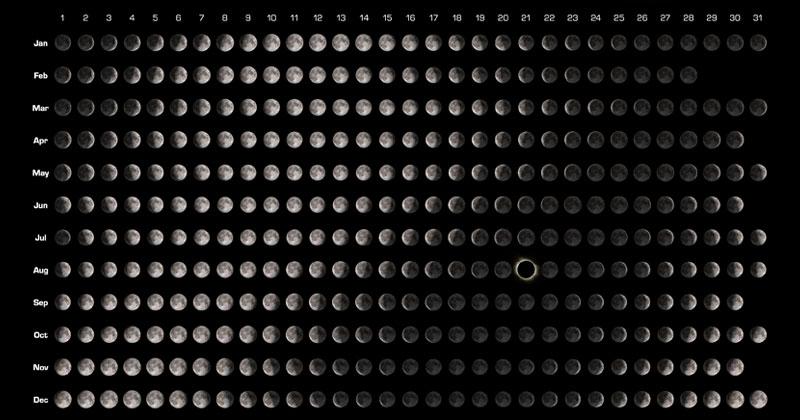 Moon Calendars For 2017 Twistedsifter
