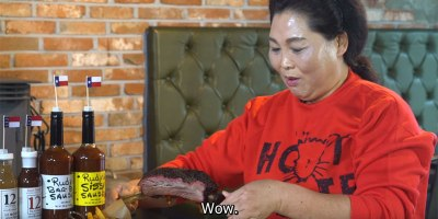 North Koreans Try American BBQ for the First Time While Recounting TheirPast