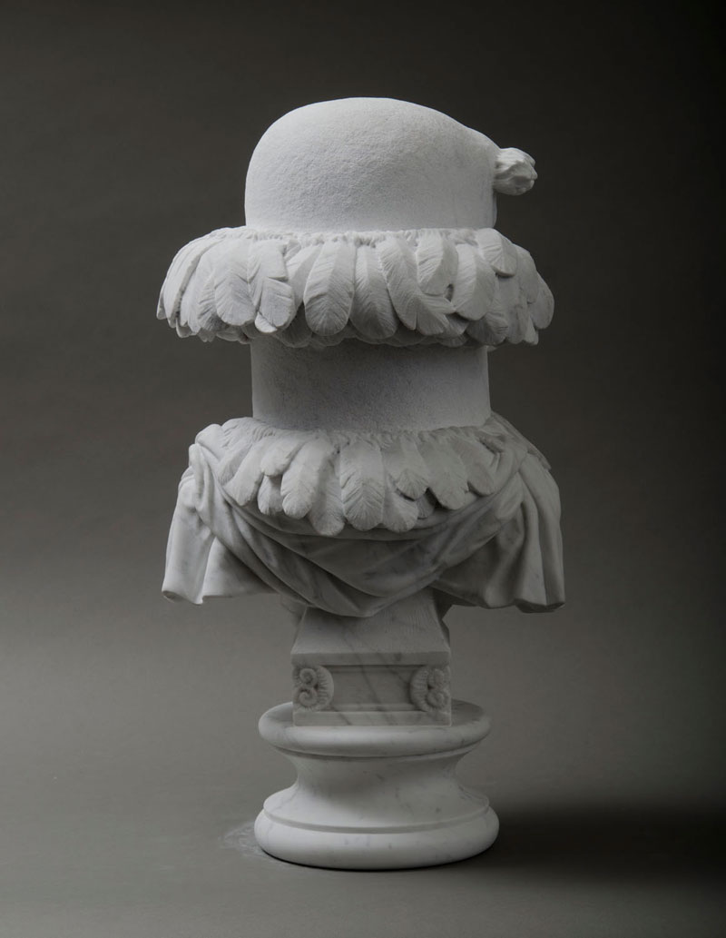 sam the eagle muppets marble bust by sebastian martorana 1 This Marble Bust of Sam the Eagle is Perfect