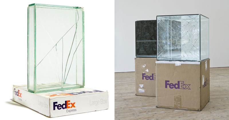 This Guy Shipped Glass Boxes Inside FedEx Packages and Exhibited theResults