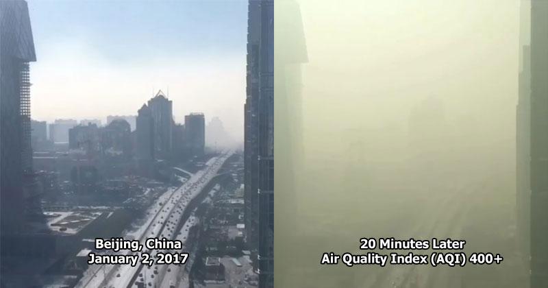 This Timelapse of Smog Engulfing Beijing isInsane