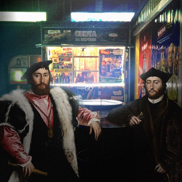 alexey kondakov takes characters from renaissance paintings and photoshops the into the present 16 Guy Takes Characters from Renaissance Paintings and Photoshops Them Into the Present