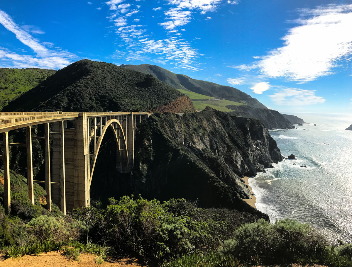bixby creek bridge big sur california Picture of the Day: Bixby Creek Bridge, Big Sur