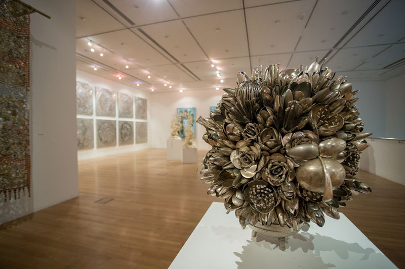 bouquets made from old silverware by ann carrington 7 Ann Carrington Makes Beautiful Bouquets from Old Silverware