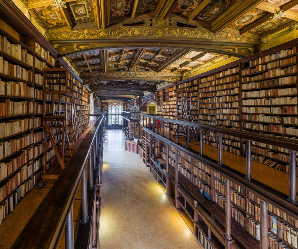 This Reading Room at the University of Oxford is One of the Oldest inEurope
