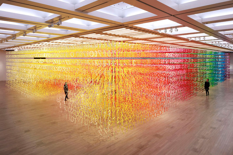 forest of numbers by emmanuelle moureaux 1 Forest of Numbers by Emmanuelle Moureaux
