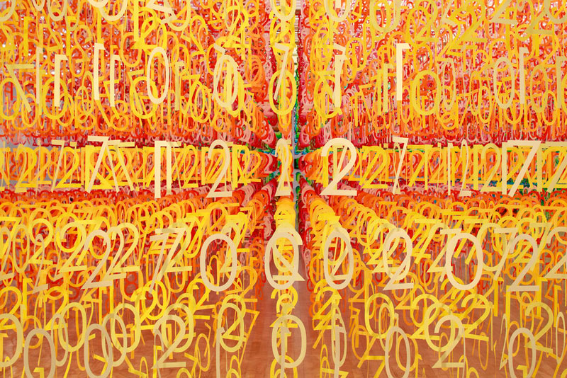 forest of numbers by emmanuelle moureaux 11 Forest of Numbers by Emmanuelle Moureaux