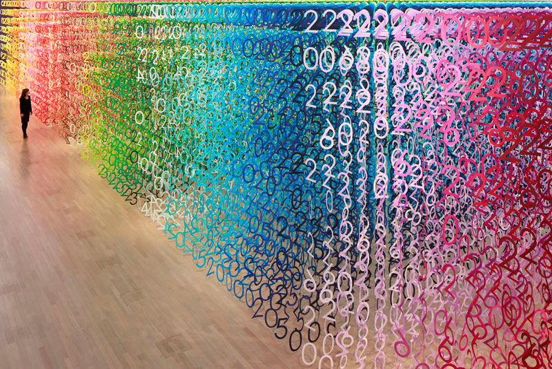 forest of numbers by emmanuelle moureaux 5 Forest of Numbers by Emmanuelle Moureaux
