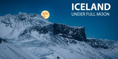 Iceland Under a Full Moon is as Amazing as it Sounds