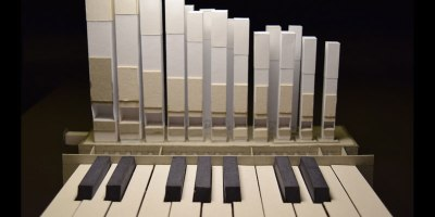 This Guy Built a Miniature Organ Entirely Out of Paper and It Actually Works
