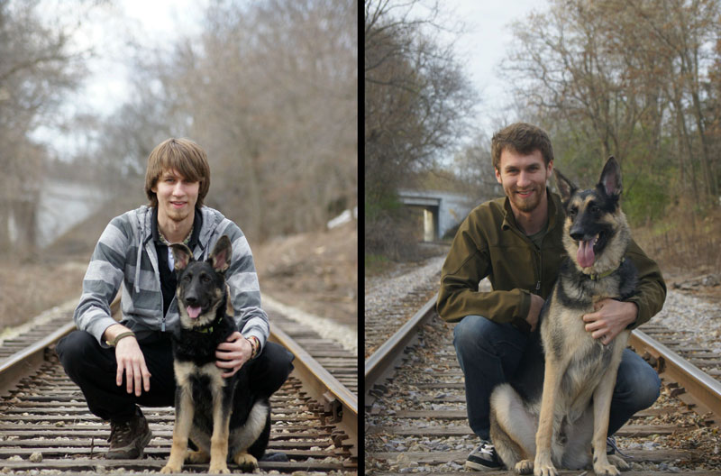 puppies dogs then and now 10 18 Then and Now Photos of Puppies/Dogs That Will Restore Your Faith in Everything