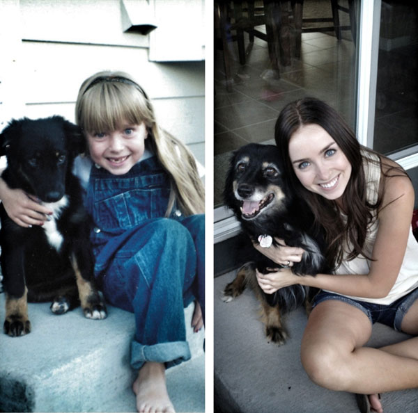 puppies dogs then and now 8 18 Then and Now Photos of Puppies/Dogs That Will Restore Your Faith in Everything