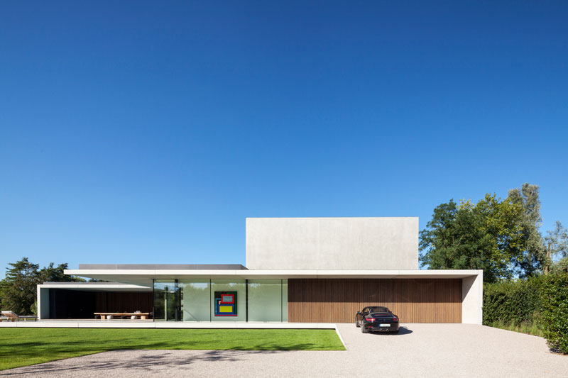 residence vdb by govaert and vanhoutte architects 16 This Guy Built His Dream Bachelor Pad With an Underground Club