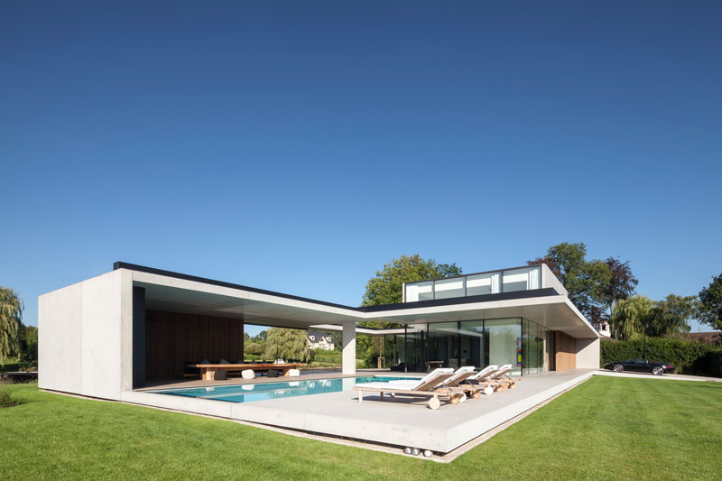 residence vdb by govaert and vanhoutte architects 17 This Guy Built His Dream Bachelor Pad With an Underground Club