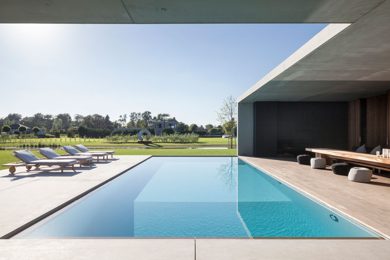 residence vdb by govaert and vanhoutte architects 19 This Guy Built His Dream Bachelor Pad With an Underground Club