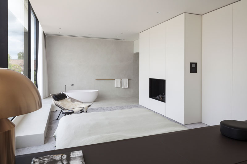 residence vdb by govaert and vanhoutte architects 5 This Guy Built His Dream Bachelor Pad With an Underground Club