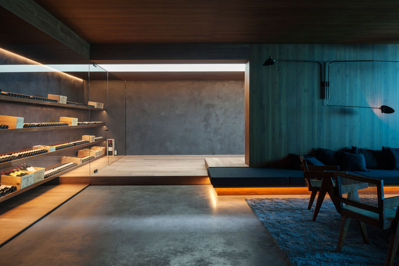 residence vdb by govaert and vanhoutte architects 9 This Guy Built His Dream Bachelor Pad With an Underground Club
