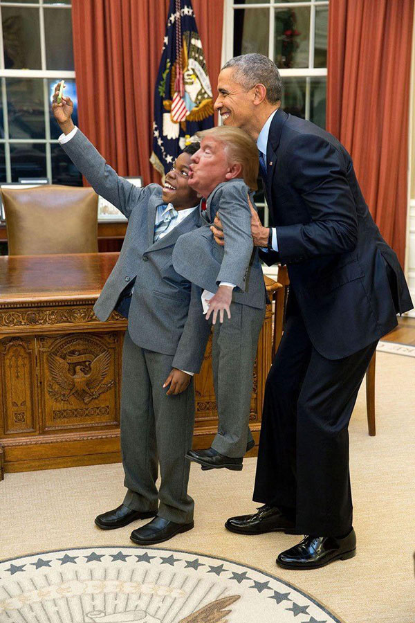 tiny trump meme photoshop reddit 6 Tiny Trump is What the World Needs Right Now