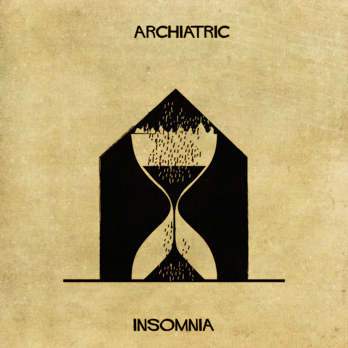 archiatric by federico babina 10 Artist Interprets Mental Illnesses and Disorders Through Architecture