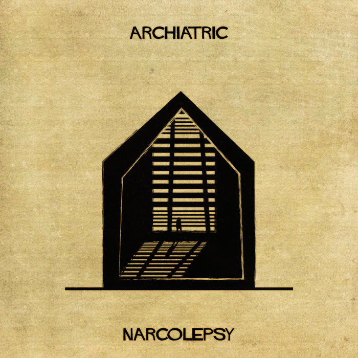 archiatric by federico babina 13 Artist Interprets Mental Illnesses and Disorders Through Architecture