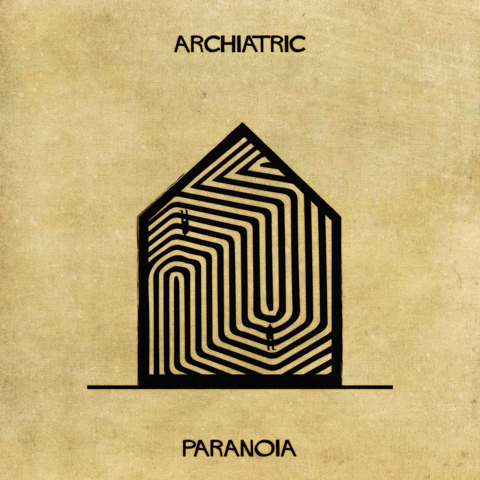 archiatric by federico babina 15 Artist Interprets Mental Illnesses and Disorders Through Architecture