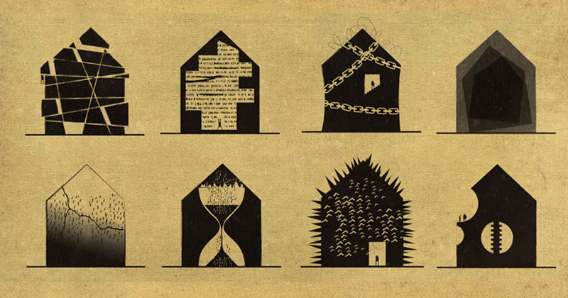 Artist Interprets Mental Illnesses and Disorders Through Architecture