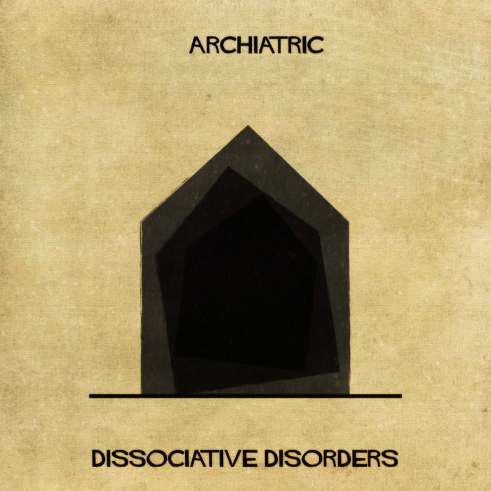 archiatric by federico babina 8 Artist Interprets Mental Illnesses and Disorders Through Architecture