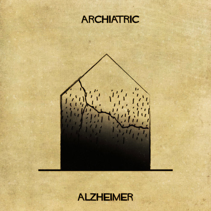 archiatric by federico babina 9 Artist Interprets Mental Illnesses and Disorders Through Architecture