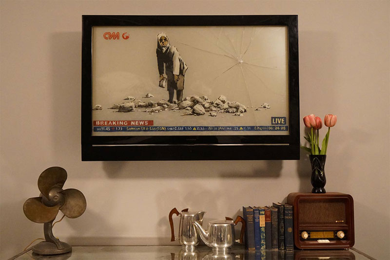 banksy hotel palestine 18 Banksy Opens Art Hotel with Worlds Worst View