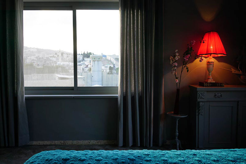 banksy hotel palestine 36 Banksy Opens Art Hotel with Worlds Worst View