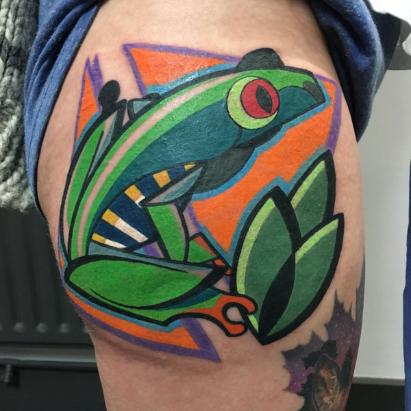 cubist tattoos by mike boyd 18 18 Awesome Abstract and Cubist Style Tattoos by Mike Boyd