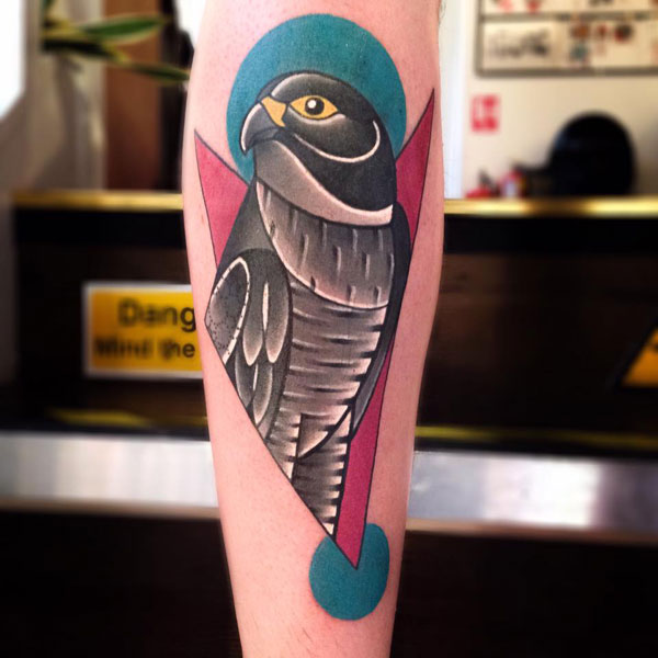 cubist tattoos by mike boyd 2 18 Awesome Abstract and Cubist Style Tattoos by Mike Boyd
