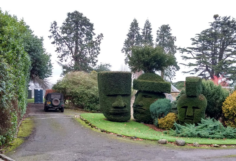 headges dalmeny house edinburgh scotland Picture of the Day: Headges