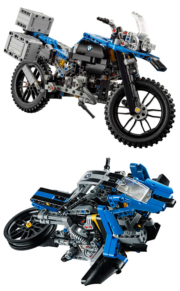 These Bmw Designers Made A Hover Bike Out Of Lego And Turned It Into
