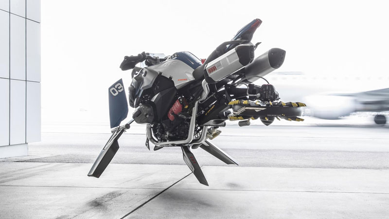 These Bmw Designers Made A Hover Bike Out Of Lego And