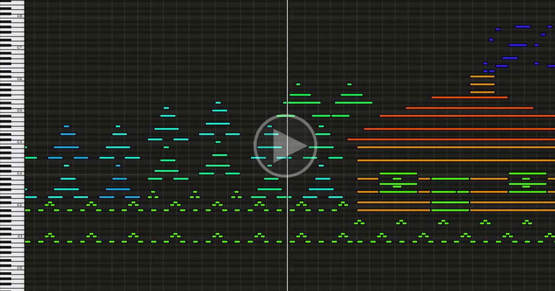 Midi Artists Draw Pictures and Tell Stories Using MusicalNotes