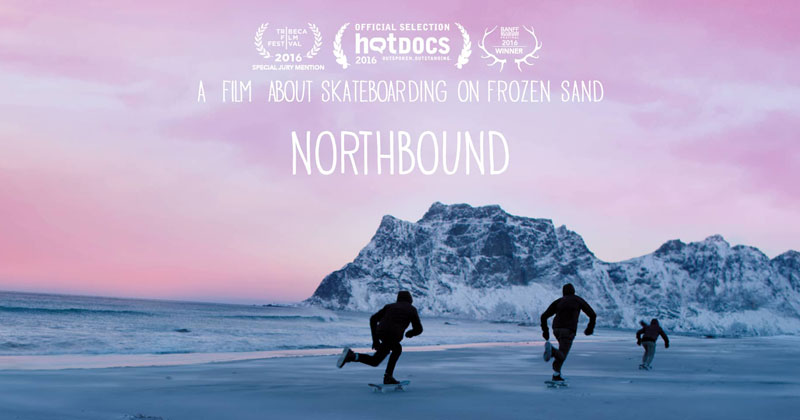 Northbound: A Skateboard Film Shot on Frozen Sand