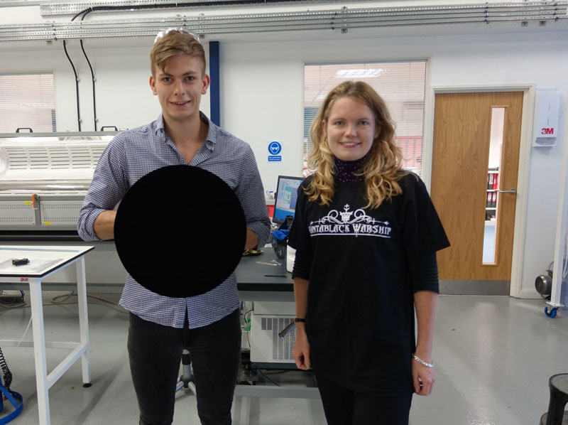 vantablack darkest substance ever made 4 A Visual Guide to Vantablack, the Darkest Substance Ever Made