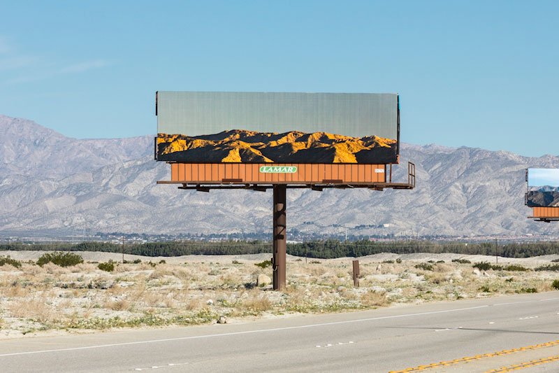 visible distance second sight my jennifer bolande for desertx 2 Artist Replaces Billboards with Photos of the Landscapes Theyre Blocking