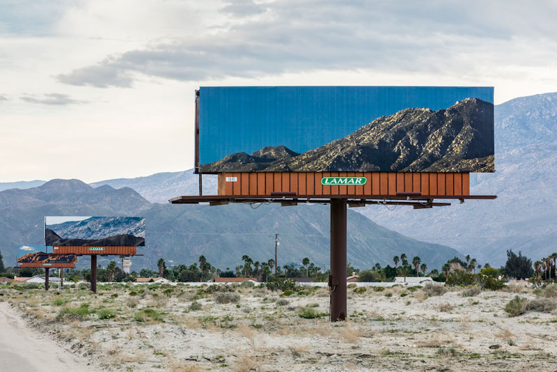 visible distance second sight my jennifer bolande for desertx 3 Artist Replaces Billboards with Photos of the Landscapes Theyre Blocking