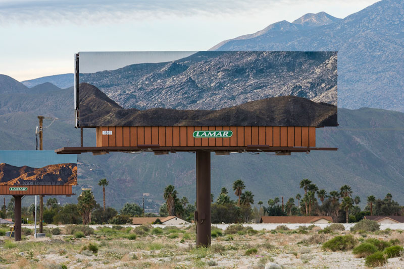 visible distance second sight my jennifer bolande for desertx 4 Artist Replaces Billboards with Photos of the Landscapes Theyre Blocking