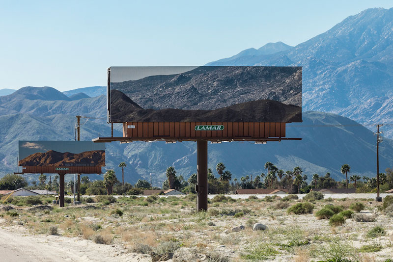 visible distance second sight my jennifer bolande for desertx 5 Artist Replaces Billboards with Photos of the Landscapes Theyre Blocking