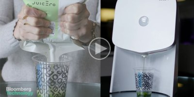 Your Bare Hands Vs a $400 Cold-Press Juicer that Squeezes $7 PlasticBags